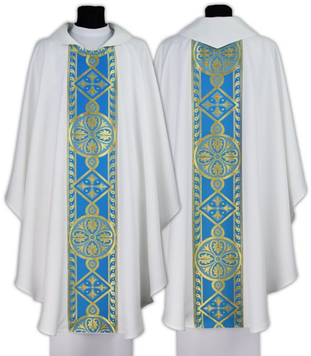 Marian Gothic Chasuble model 013