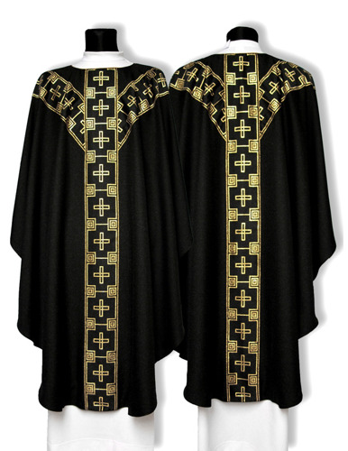 Semi Gothic Chasuble model 217