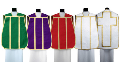 Set of Roman Chasubles