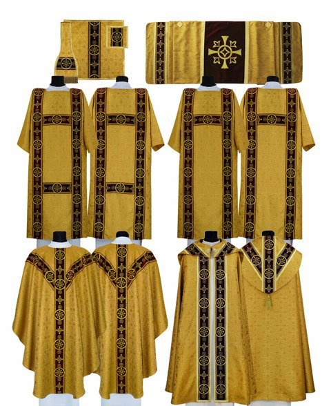 Semi Gothic style High Mass Set model 579