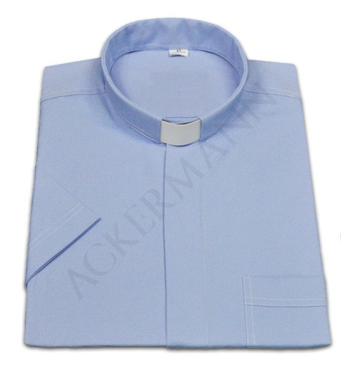 Blue Clergy shirt