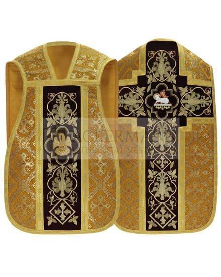 Gold Roman Chasuble Lamb