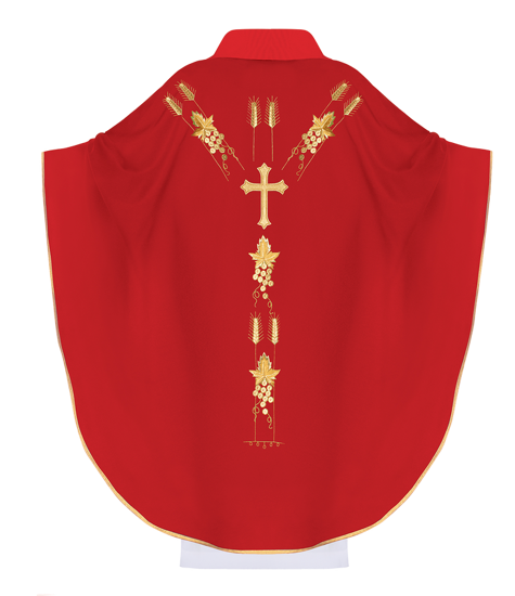 Gothic Chasuble IHS