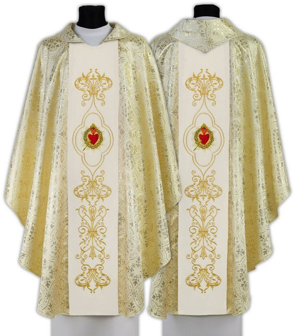 Gothic Chasuble Sacred Heart