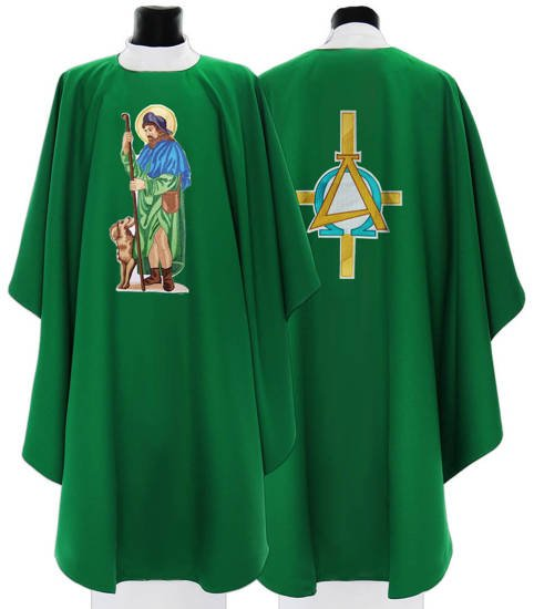 Gothic Chasuble Saint Roch