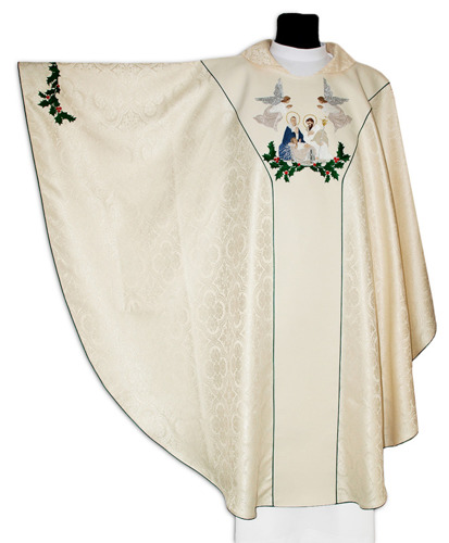 Gothic Chasuble for Christmas model 643