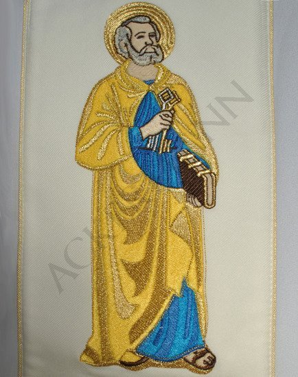 Gothic Stole Saint Peter and Paul