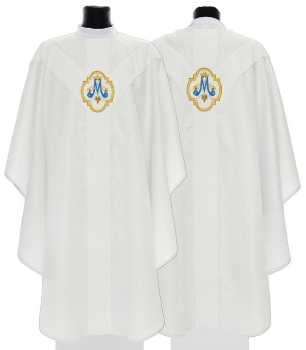 Marian Semi Gothic Chasuble model 205