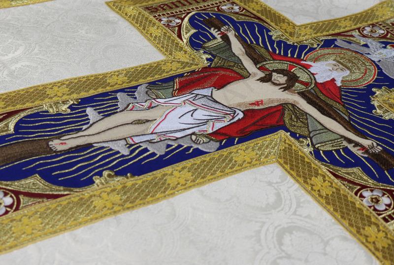 Roman Chasuble Holy Trinity