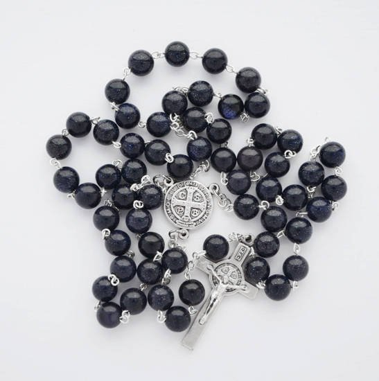 Rosary with Jasper stones