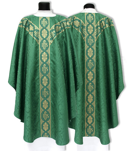 Semi Gothic Chasuble model 213