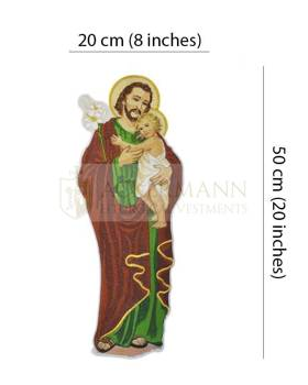 Embroidered Applique St Joseph