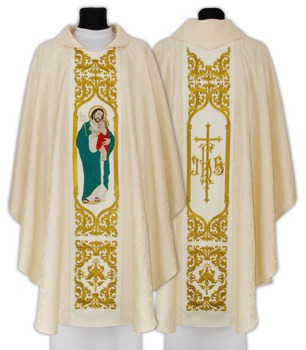 Gothic Chasuble St. Joseph husband of Mary model 658