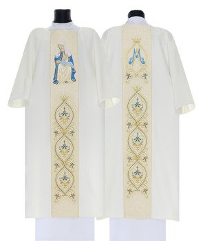 Marian Gothic Dalmatic Mother of the Divine Providence  model 428