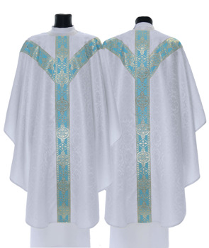 Marian Semi Gothic Chasuble model 201