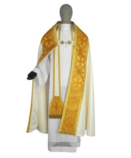 Roman Cope Ecce Panis Angelorum model 062