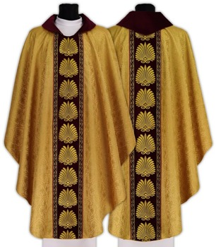 Gothic Chasuble model 584