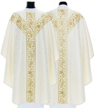 Semi Gothic Chasuble model 741